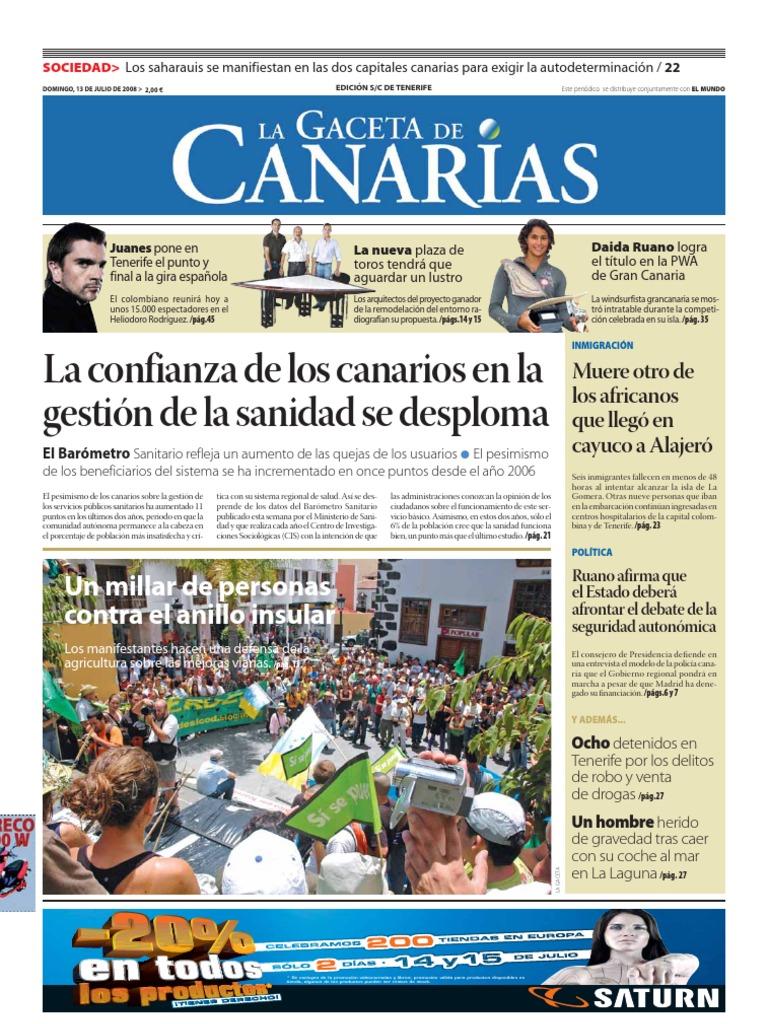 LAGACETA13JLTF   Islas Canarias   Distrito electoral
