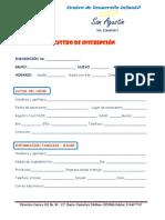 REGISTRO DE INSCRIPCION 2021