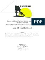 EASTERN Curriculum Level 3 Student Guidebook