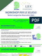 Workshop Scuole MMT LIUC 2021