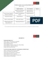 Descriptivo Magister en Formulación y Evaluación de Proyectos