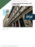 Musei Firenze aperti oggi (anche gratis)_ orari 2021, dagli Uffizi al Bargello