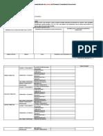 Plan Anual Trimestralizado  - formato