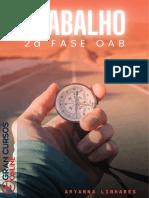 direito do trabalho e processo do trabalho para 2° fase, apostila para segunda fase pra OAB