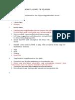 SOAL ULANGAN 2 TIK KELAS VIII