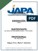 evalucion de la inteligencia San Martín De Porres Medina Acosta- tarea 8