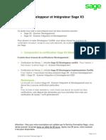 Guide du Consultant Développement et Intégration Sage X3