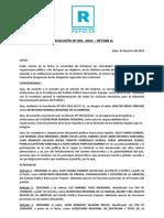 RESOLUCIÓN RP SGLL - NOMBRAMIENTO DE SECRETARIAS