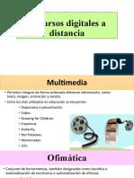 Recursos Digitales a Distancia