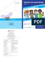 Modulo de aprendizaje para quinto primaria