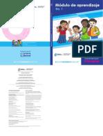 Modulo de aprendizaje para sexto primaria