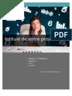 Guide Presentation de Votre Projet - 2014