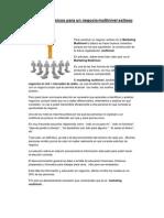 Elementos básicos para un Negocio Multinivel Exitoso