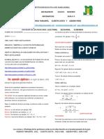 GUIA PEDAGOGICA ^N 4 DE MATEMATICAS GRADO 9 2021