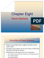 Chapter-8, Stock Markets