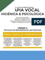 4. Terapia vocal higiénica  psicológica