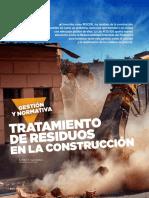 4. Tratamiento de Residuos en La Construcción