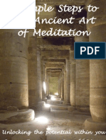 8 Simple Steps to the Ancient Art of Meditation, By Sussan Evermore & Ronald Ritter
