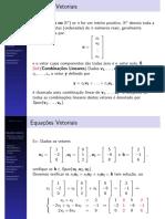 Equações Matriciais e Vetoriais