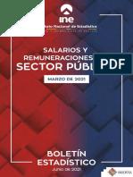 Boletin Salario Publico Marzo 2021