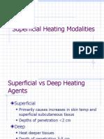 SuperficialHeatingModalities