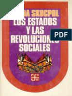 SKOCPOL Los Estados y Las Revoluciones Sociales