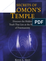Kevin L. Gest - The Secrets of Solomon's Temple; Discover the Hidden Truth that Lies at the Heart of Freemasonry