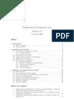Clasificación de secciones según EAE.