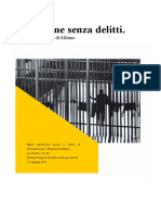 Delle Pene Senza Delitti. Istantanea Del CPR Di Milano.