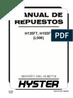 Manual de Repuestos H155FT Serie L