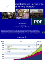 Pro-poor and Gender Responsive Tourism in the Greater Mekong Subregion
