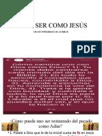 COMO SER COMO JESÚS