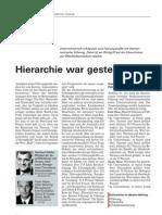 """Gastbeitrag zum Thema """"Führungskommunikation"""" in der Fachzeitschrift Personal"""