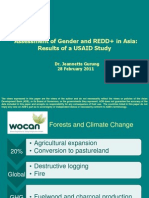 Assessment of Gender and REDD+ in Asia