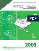 manual de taller cortacesped EL-63
