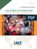 Acf - Renforcement Du Systeme de Sante -Du Diagnostic a La Programmation