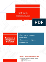 Soft Skills - Profa Patricia Rocha - Trabalho Individual