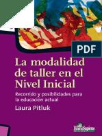 La Modalidad de Taller en El Nivel Inicial.pdf · Versión 1