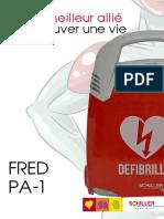 Brochure Défibrillateur