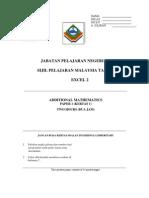 Sabah Add Maths  1 & Skema Jwp