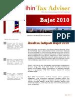 Analisa Intipati Bajet 2010