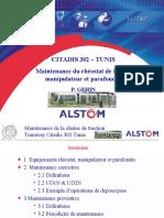 6- Formation CdT - Citadis Tunis - Maintenance Manip Rhéostat - Rev A