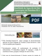 IQA Rio São Francisco em Petrolina e Juazeiro