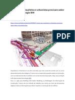 ARTIGO 6 - - 7 Coisas que arquitetos e urbanistas precisam saber sobre a tecnologia BIM