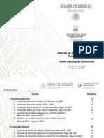 Informe Incidencia Delictiva Fuero Comun Mayo 2021