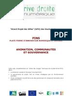 PINS Animation, communautés et gouvernance