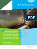 [Dossier] L'enfant ORPHELIN – H. Romano (coord.) (école, élève, deuil, parent, aide, Soutien, Protection, situations d'urgence)