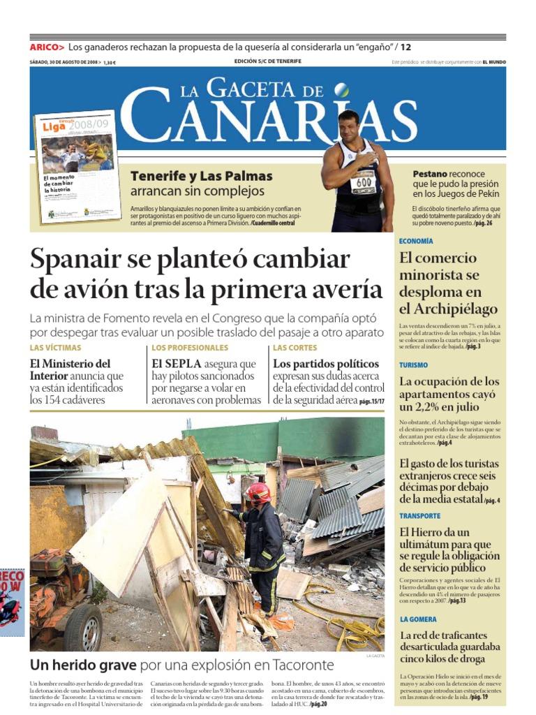 Lagaceta30agtf Islas Canarias Deportes