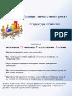 Лекция- Структура личности (1)