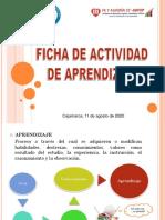 7. Ficha de Actividad